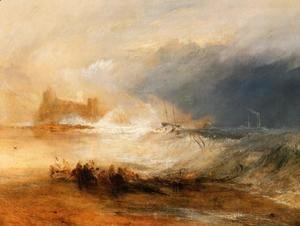 Turner - Wreckers   Coast Of Northumberland