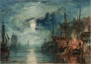Turner - Shields, on the River Tyne