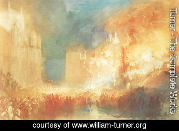 Turner - Burning of the Houses of Parliament