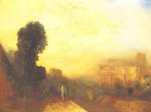 Turner - Arch of Constantine, Rome