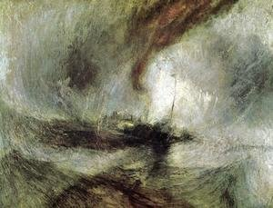 Turner - Snow Storm- Steam-Boat off a Harbour's Mouth c. 1842
